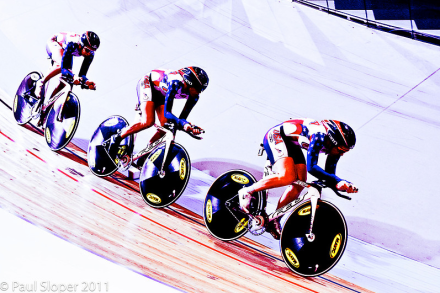 USA Women's Team Pursuit - Track World Championships 2011 - ©Copyright Paul Sloper