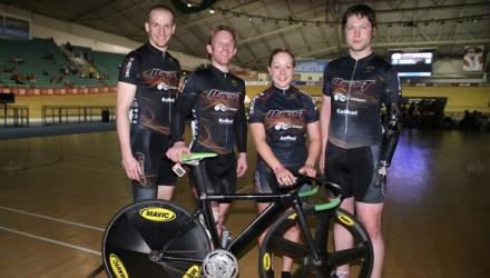 Team Para-T:  Tel Byrne, Jody Cundy, Helen Scott, Jon-Allan Butterworth - Image ©Copyright Christina Kelkel
